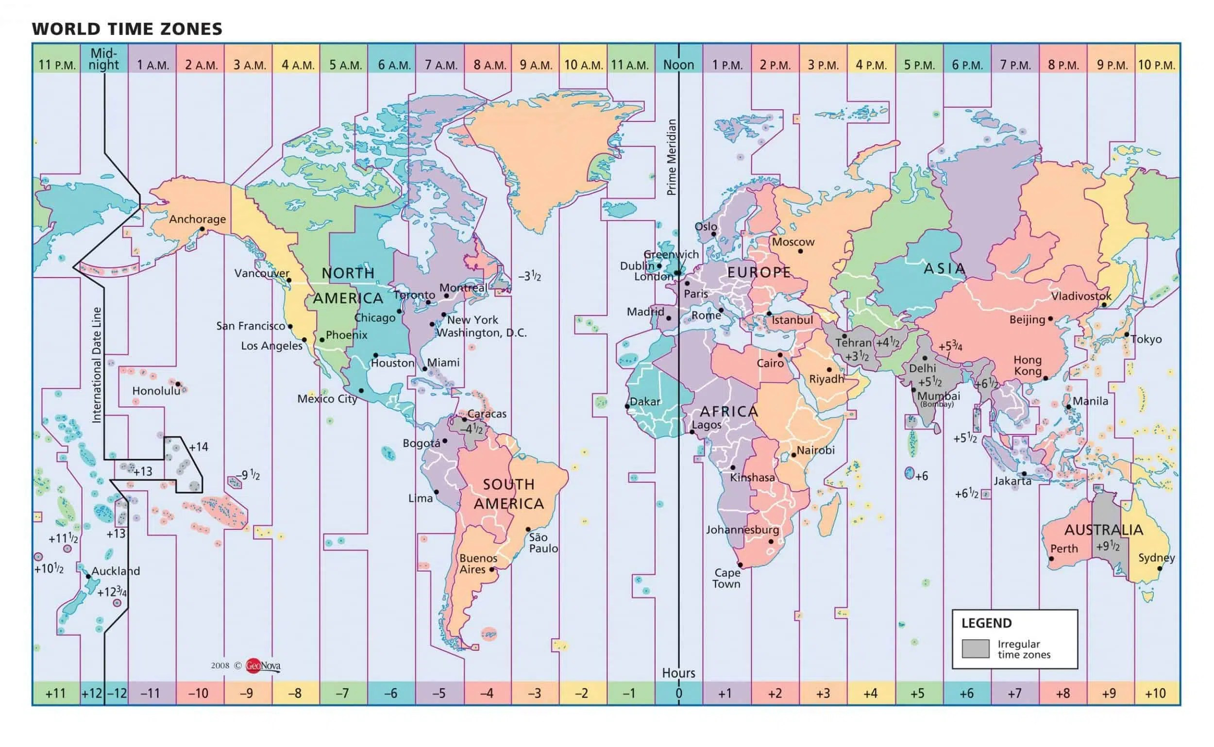 Military Time Zones Full Guide With Time Zones Chart Amp Map