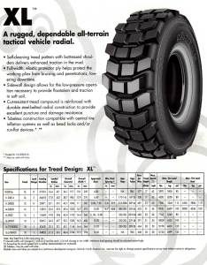 Michelin xl tire specs also info military tires rh militarytires