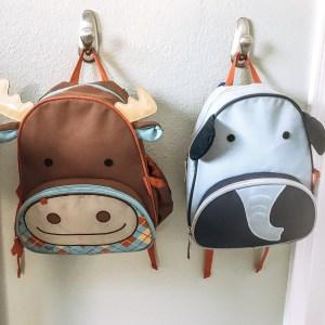 Skip Hop Little Kids Backpack moose elephant