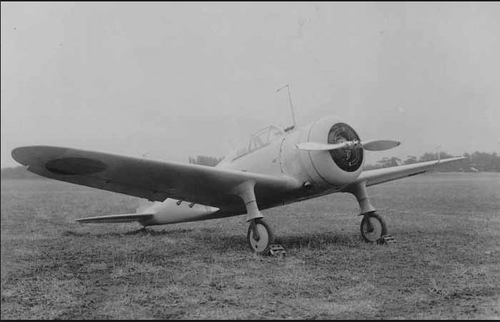 Pesawat Cukiu Banteng Ki 27 Nate