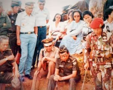 Penugasan Operasi Militer Mayor Sutiyoso di Aceh