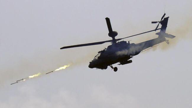 Pesawat Helicopter milik Angkatan Darat