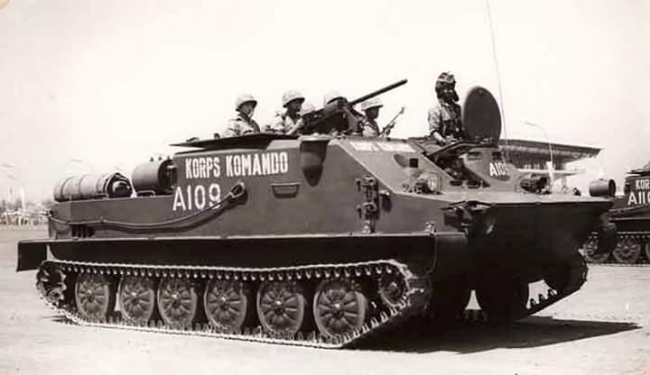 BTR50 milik KKO (Marinir)