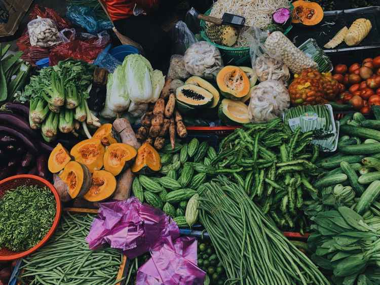 photo of assorted vegetables