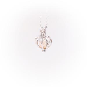 Halskette Perlenkrone