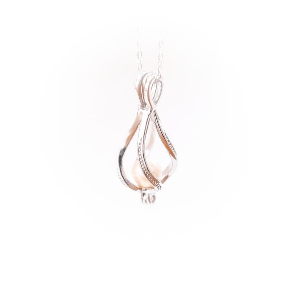 Halskette Perlenwelle