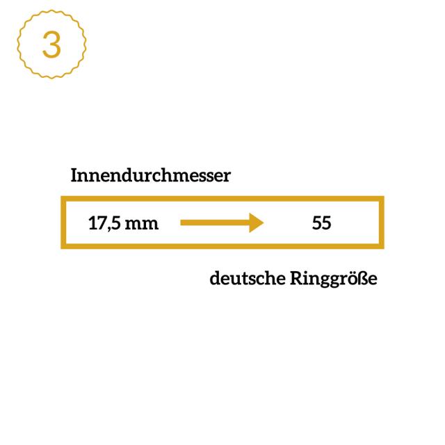 Ringgröße ermitteln | Umrechnen mit Ringtabelle