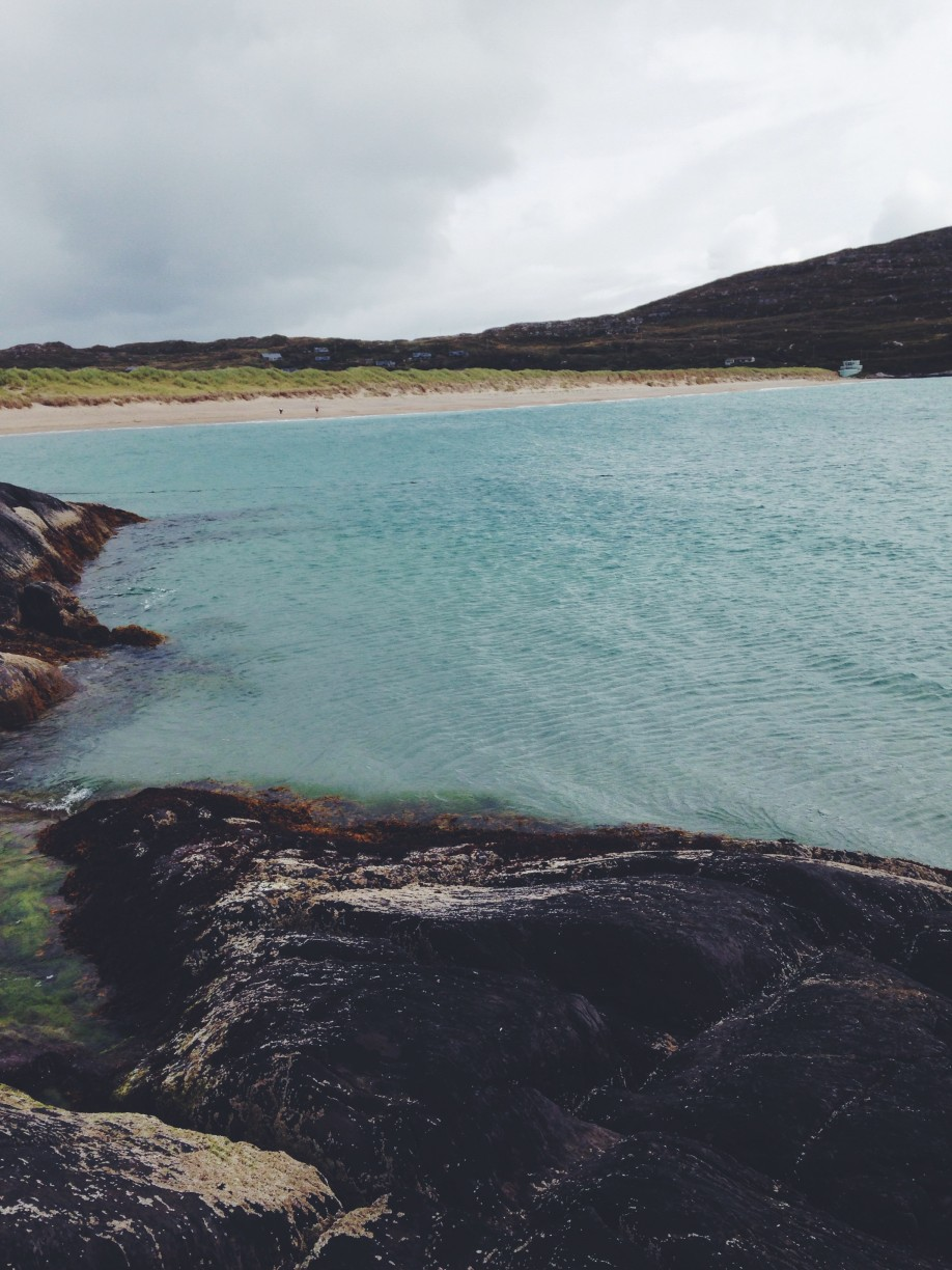 Beach at Derrynane House in Kerry. ©Hannah Williams