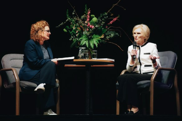 Mary Berry spoke to Kathleen from Toppings & Company Booksellers Bath.