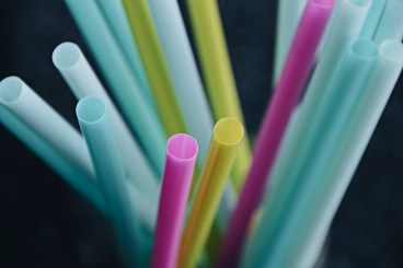 ingle use plastic straws are gradually being banned by some UK companies, as it's revealed we throw away 8.5 billion a year.