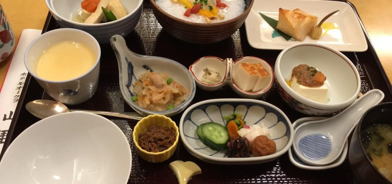 ホテルオークラ東京 山里の朝食