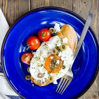 Sunday Breakfast: Zaatar fried egg