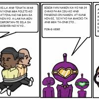 ALIEN Saga – Part 3: Mga Bihag