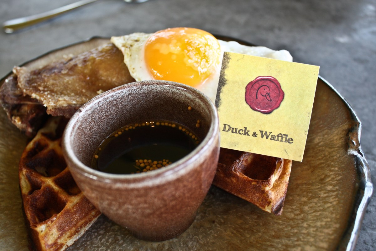 The Duck And Waffle London Milk And Cookies