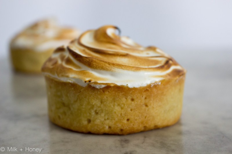 Isn't she lovely? The perfect individually sized lemon meringue