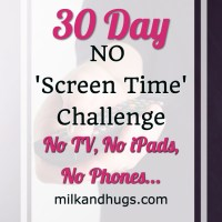 The 'No Screen Time' Challenge