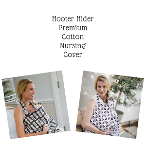 Hooter Hider nursing Cover that can help you with breastfeeding through the holidays