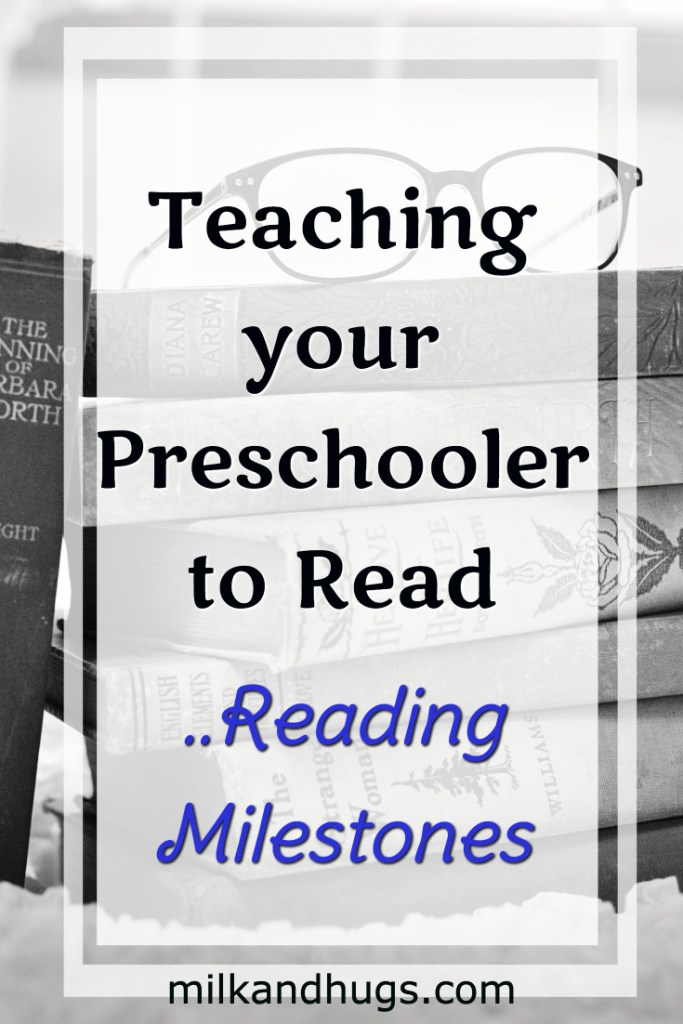 Teaching your preschooler to read can be frustrating - yet knowing the reading milestones can ease the stress for both of you.