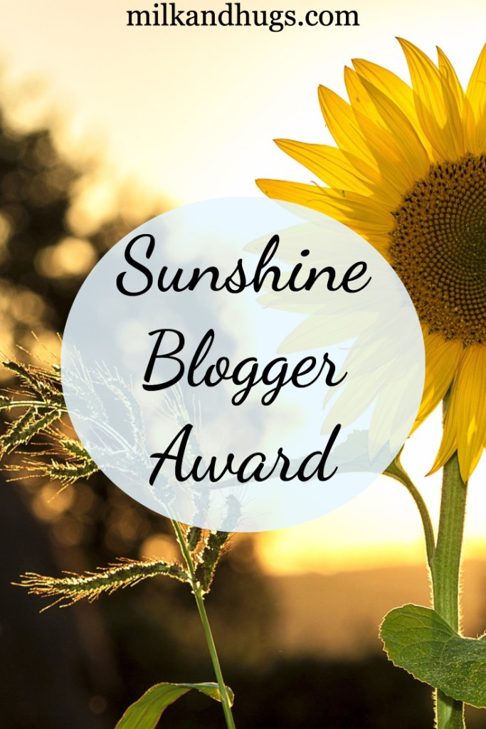 I woke this morning to discover my name in a recent list for The Sunshine Blogger Award Nominees! I am thrilled, shocked and humbled - and I can't wait to pay it forward!