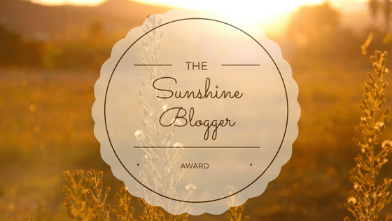 I have been nominated for the Sunshine Blogger Award! I'm sharing the love - here are my nominees for the award
