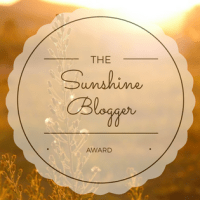 The Sunshine Blogger Award – Nominations!