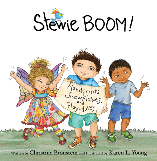 An approachable and honest children's book about autism - a review of Stewie BOOM! and Princess Penelope; Handprints, Snowflakes and Play-dates