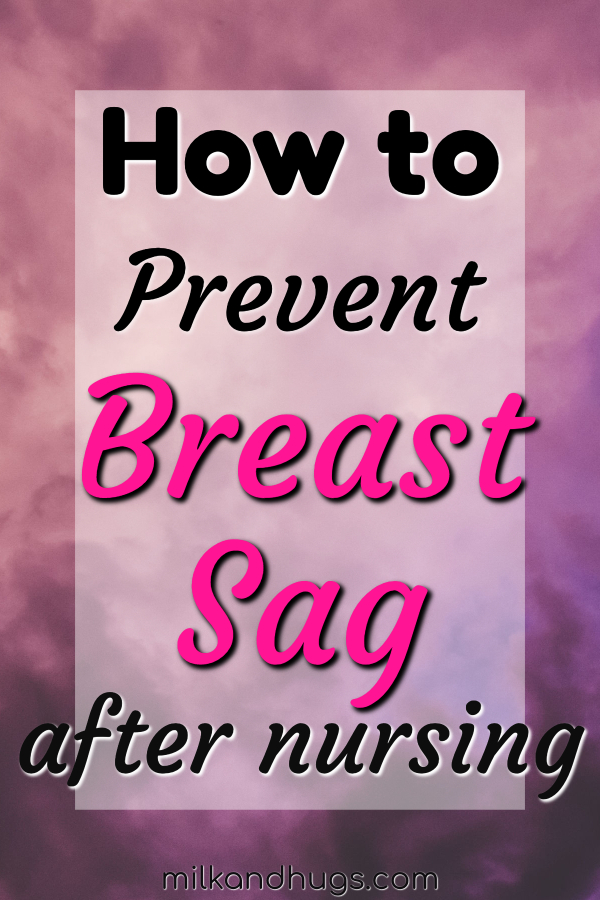 Breast changes after Pregnancy and Breastfeeding are natural - but you CAN prevent or reduce the appearance of sag. #breastfeeding