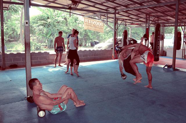 kiatphontip-gym-training
