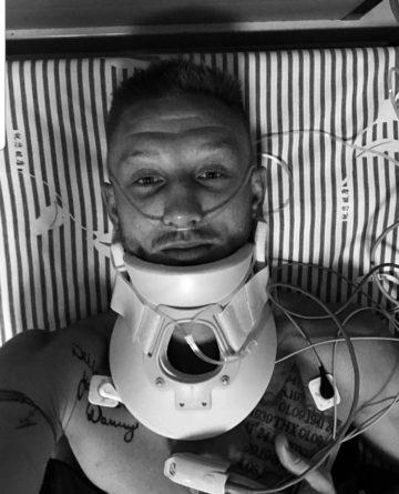 Muay Thai broken neck