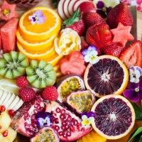 Festive Fruit Platter Up