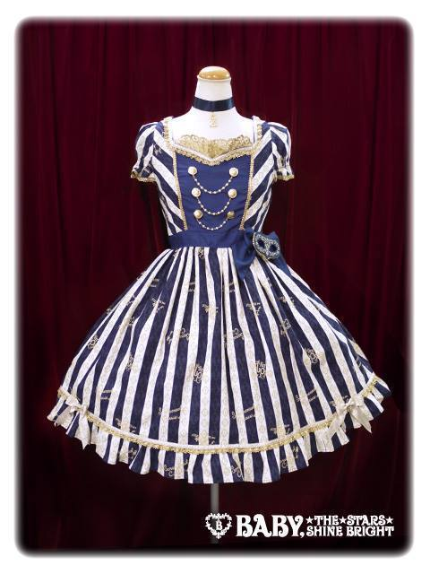 Alice and the Pirates Sleepless Masquerade JSK II Navy