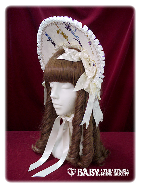Alice and the Pirates Electric Circus in the Moonlight Night Bonnet Ivory