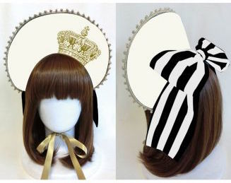 Vierge Vampur Crown Bonnet Ivory
