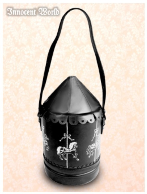 Innocent World Merry-go-round Bag Black