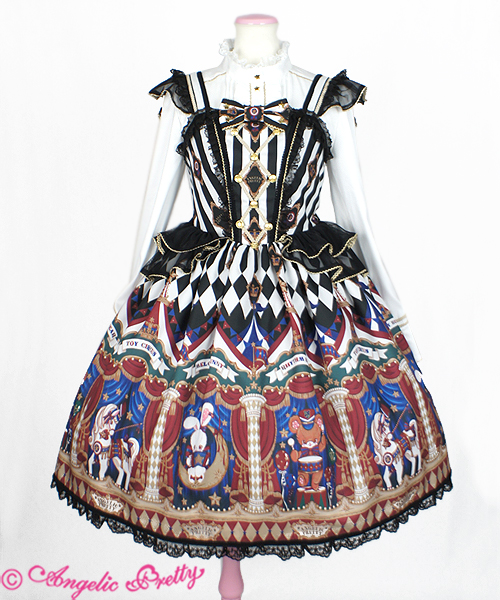 Angelic Pretty Toy Circus JSK Black