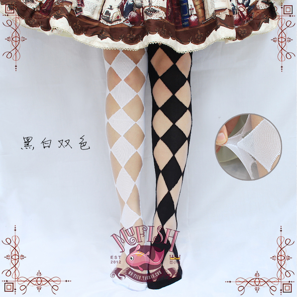 Mufish Diamond Tights