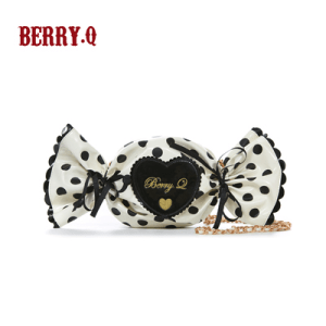 Berry Q Candy Bag Black x White
