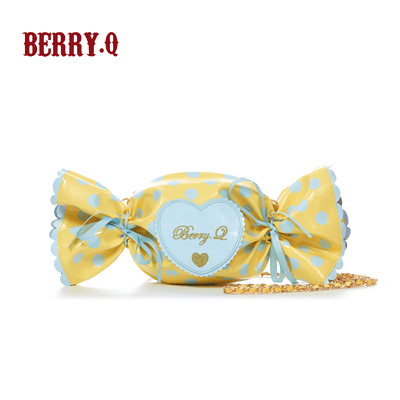 Berry Q Candy Bag Yellow x Blue