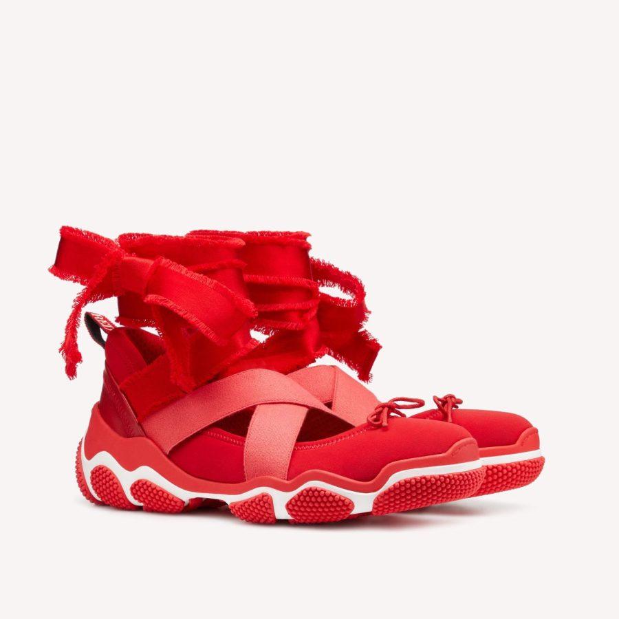 REDValentino REDBallet Special Edition Ultra Red Sneaker
