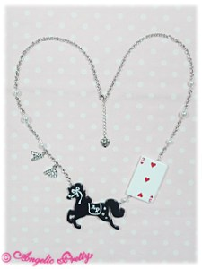 Angelic Pretty Trump Carnival Pony Necklace