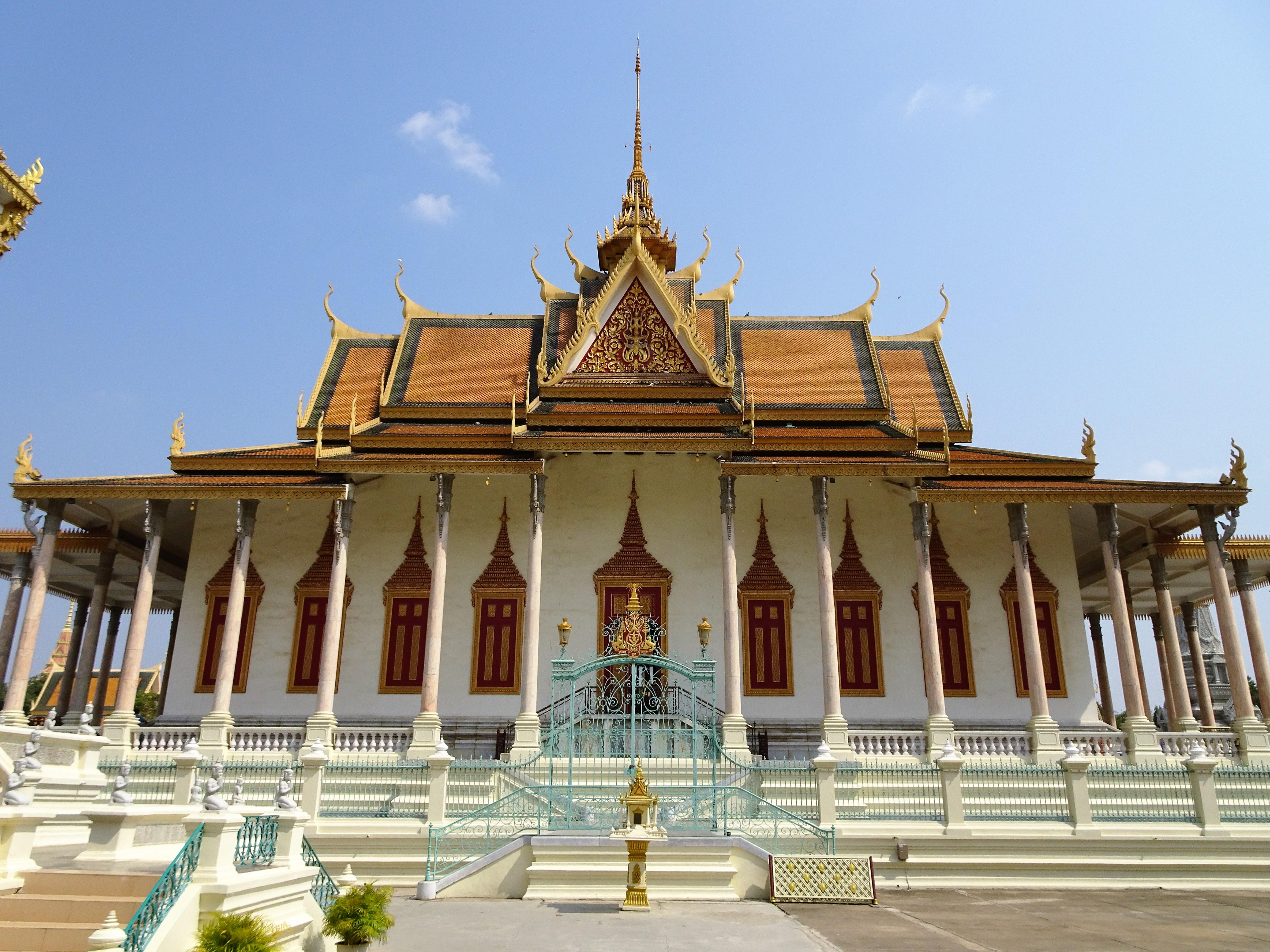 Palais royal - la pagode d'argent