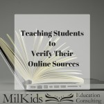 Teach Kids to Verify Their Online Sources