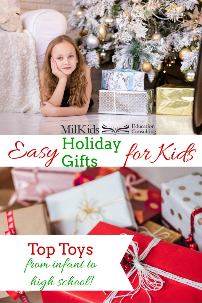 Give easy gifts for kids that they'll cherish for years!