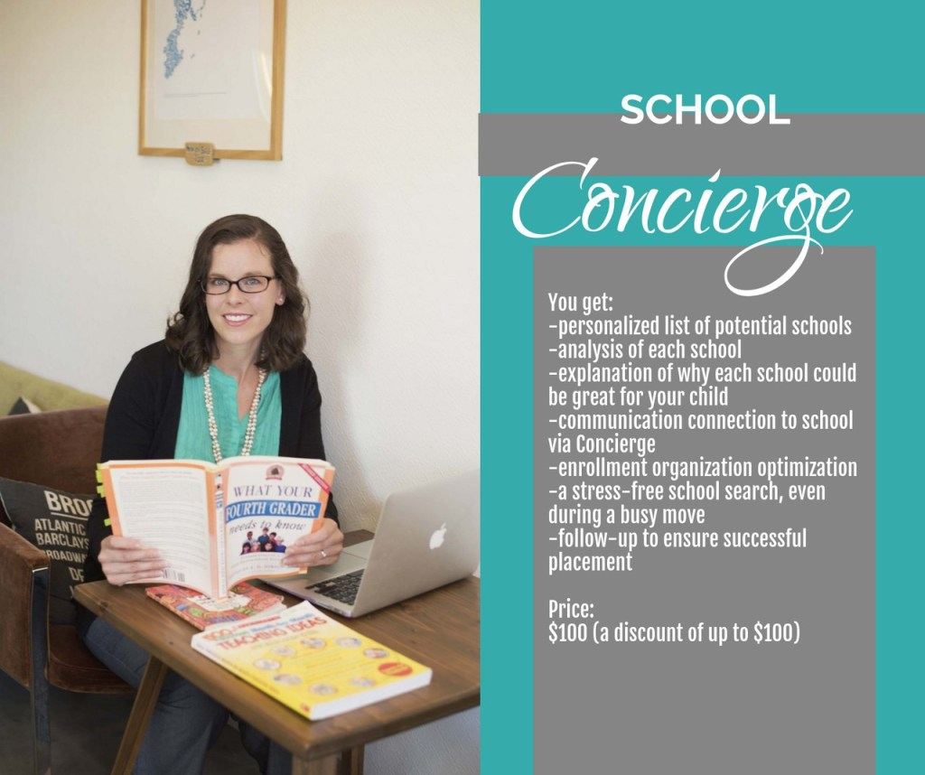 Find your next great school with School Search Concierge services from MilKids Ed