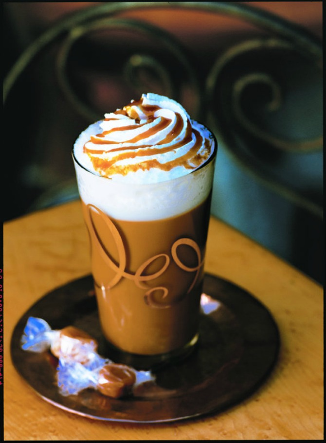 Skinny Salted Caramel Latte  Milk Recipes and Other