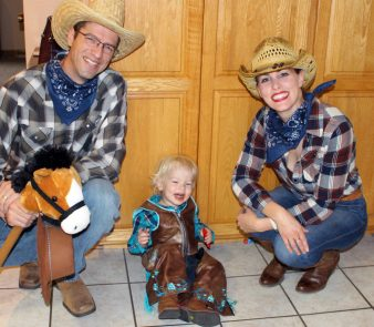 Rodeo Cowboy Family - 2017
