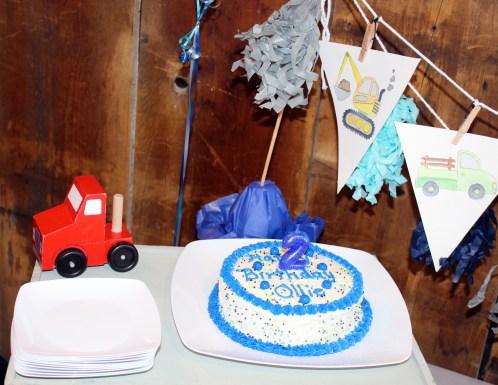 Cake and Garland