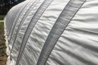 hoop house close-up