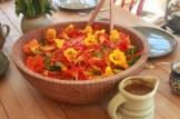 salad of autumn colors