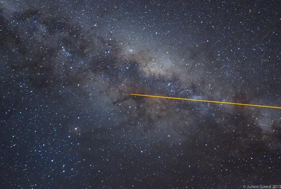 Milky Way Kiwi from Paranal